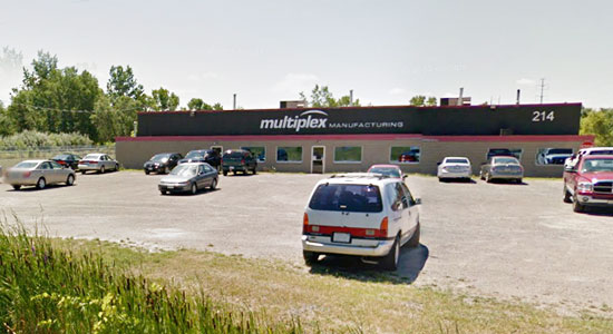 Multiplex Manufacturing Building